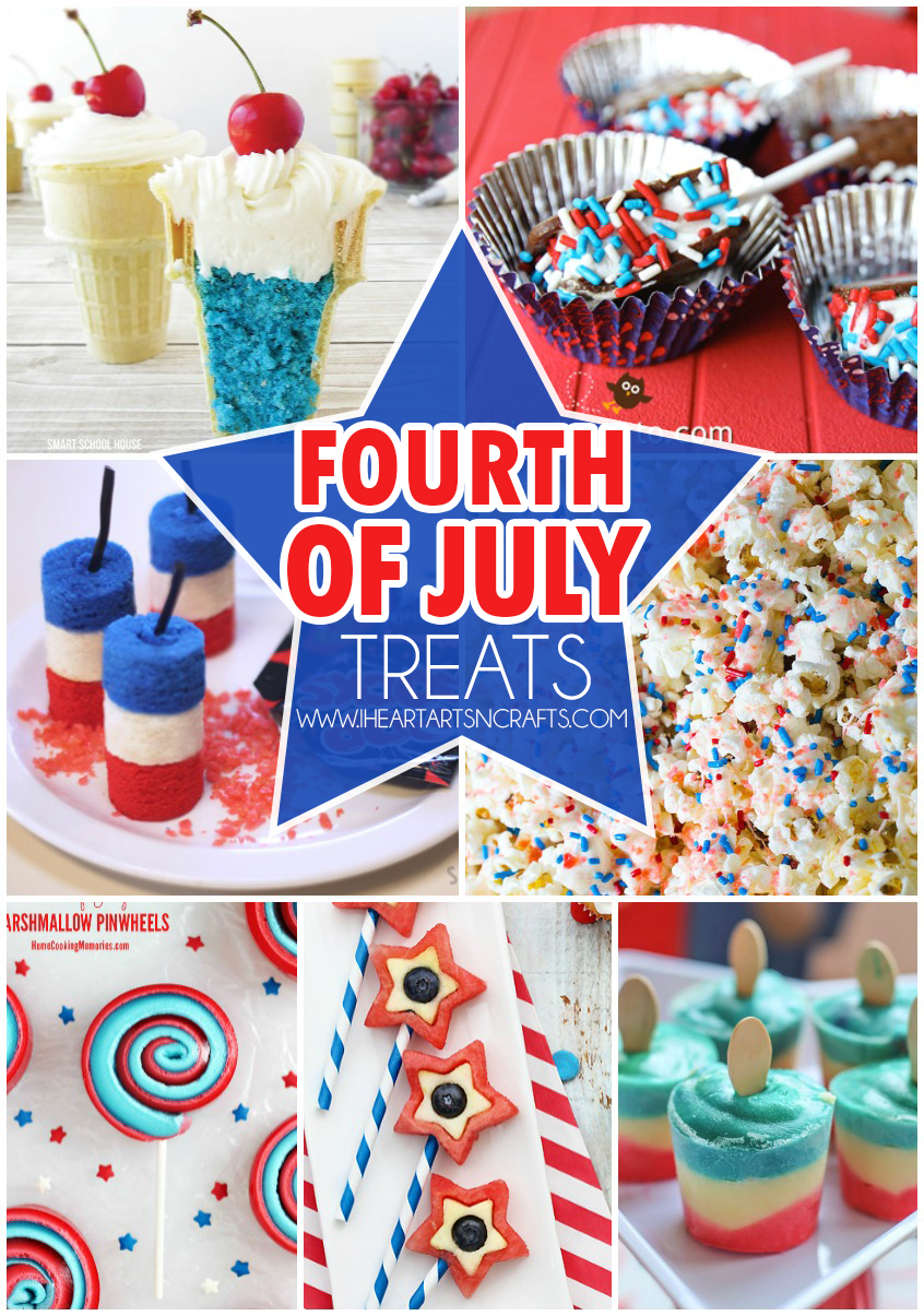 Fourth Of July Treats For Kids I Heart Arts N Crafts