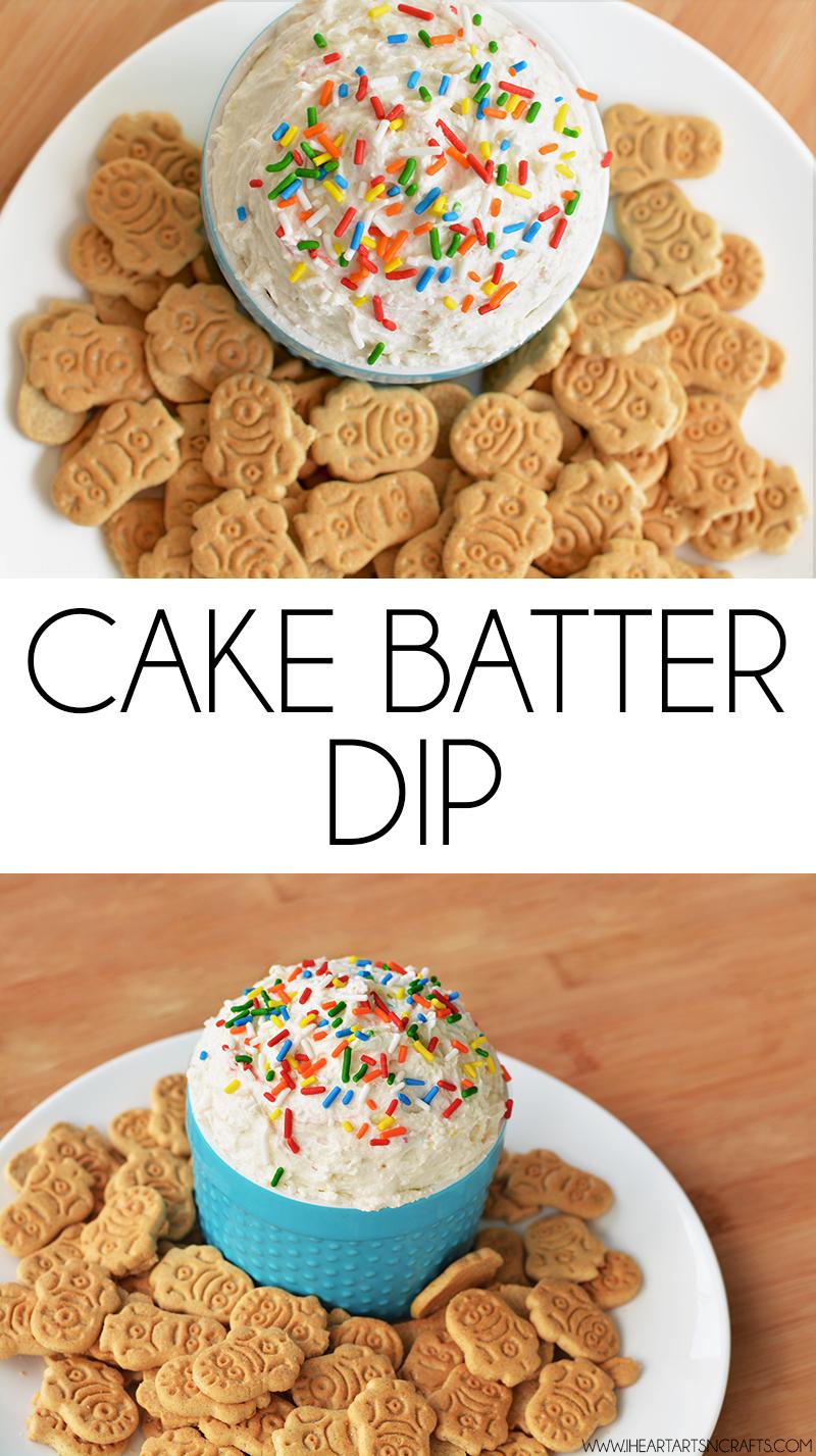Graham Cracker Dip With Cake Mix