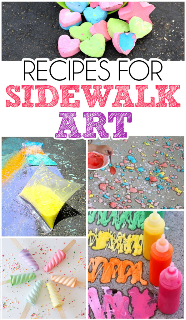 Recipes For Sidewalk Art