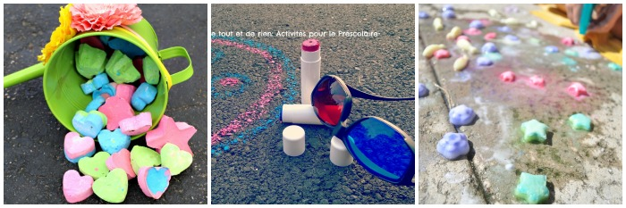 Sidewalk Chalk Recipes For Kids