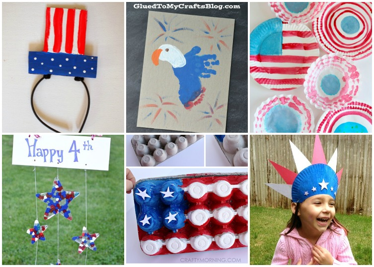 Ordinary Fourth Of July Craft Ideas For Kids Part - 3: 16 Fun And Easy Fourth Of July Crafts For Kids