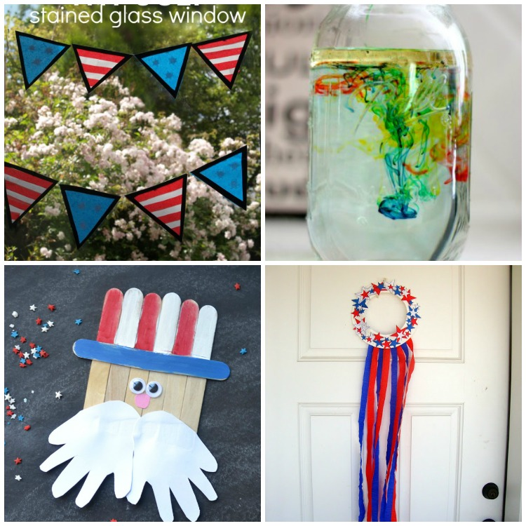16 fun and easy fourth of july crafts for kids i heart for Art n craft for toddlers