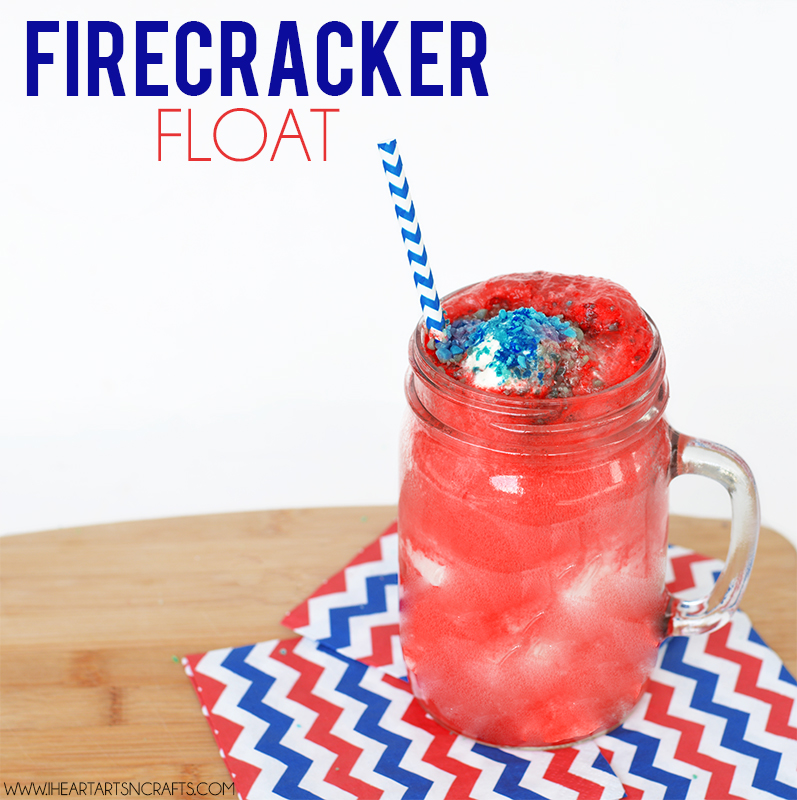 Firecracker Fourth of July Float