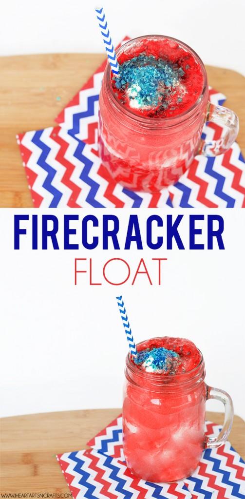 Firecracker Fourth of July Float