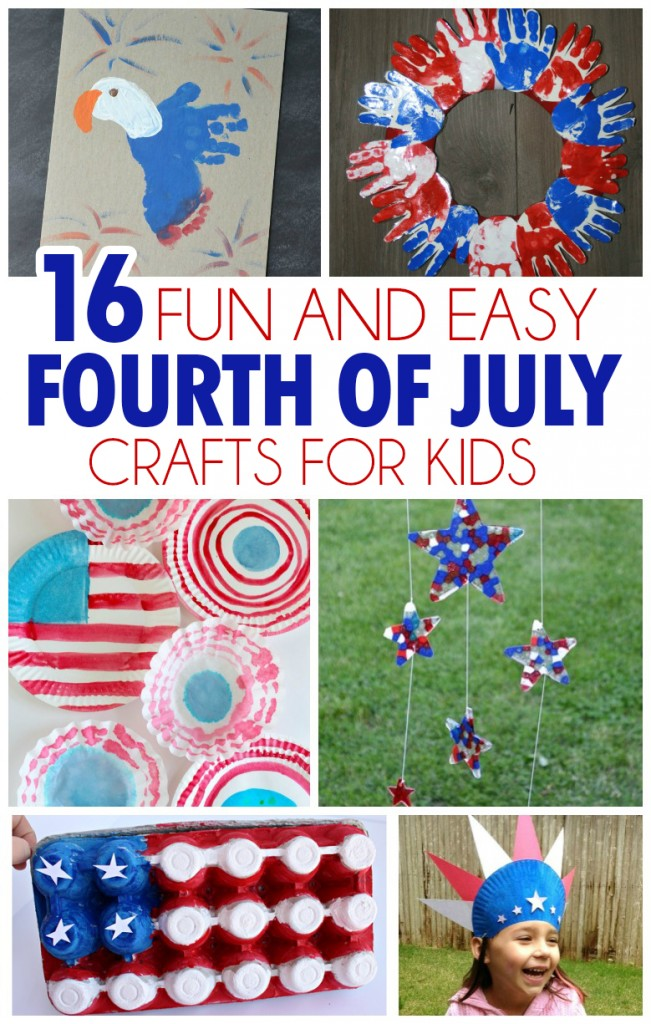Fun and easy fourth of july crafts for kids i heart