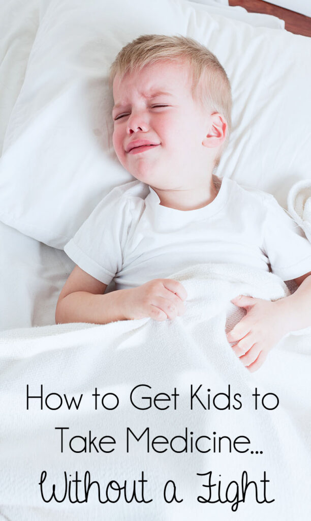 How to Get Kids to Take Medicine...Without a Fight