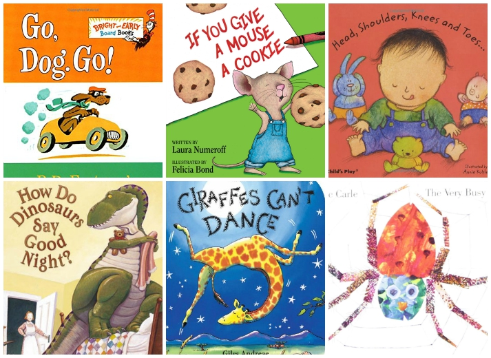Books For Babys First Library