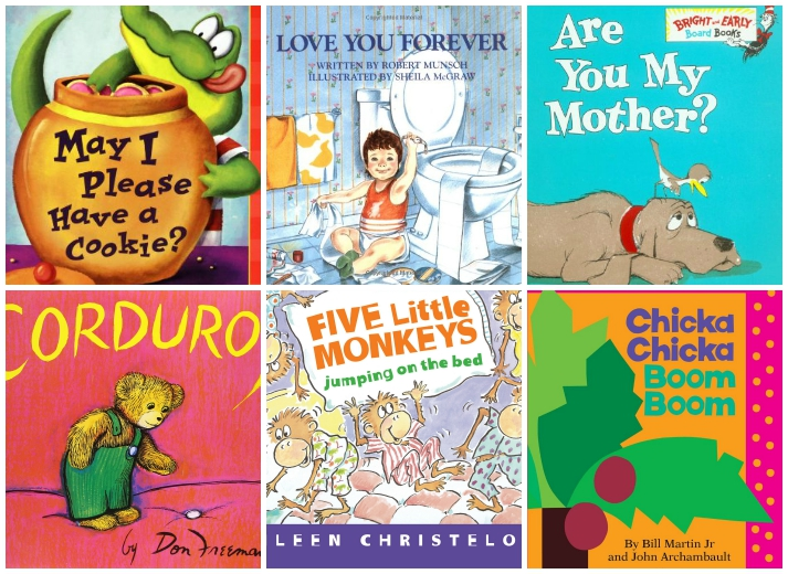 Books To Choose For Babys First Library