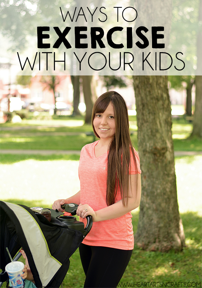 Ways To Exercise With Your Kids