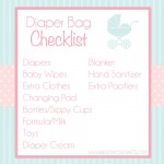 Pregnancy Resources: Diaper Bag Checklist, Hospital Checklist, & more!