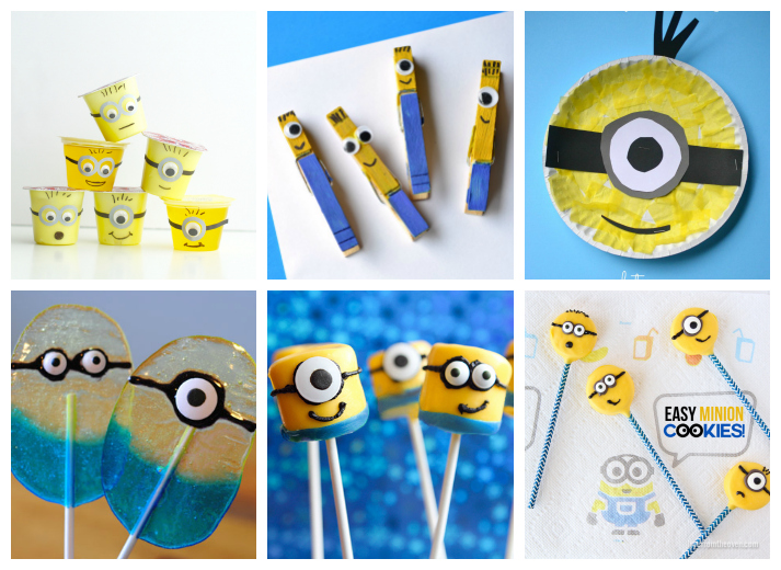 Diy clothespin crafts diy clothespin crafts pictures to pin on - 25 Minion Crafts And Recipes For Kids I Heart Arts N Crafts