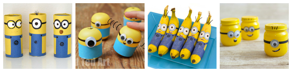 Minions Kids & Toddlers Crafts and Recipes