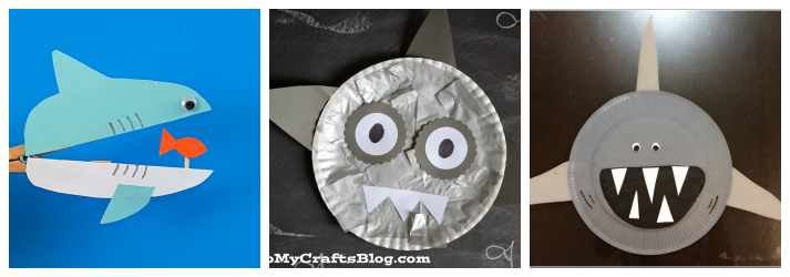 Shark Week Crafts, Activites and Recipes for Kids and Toddlers