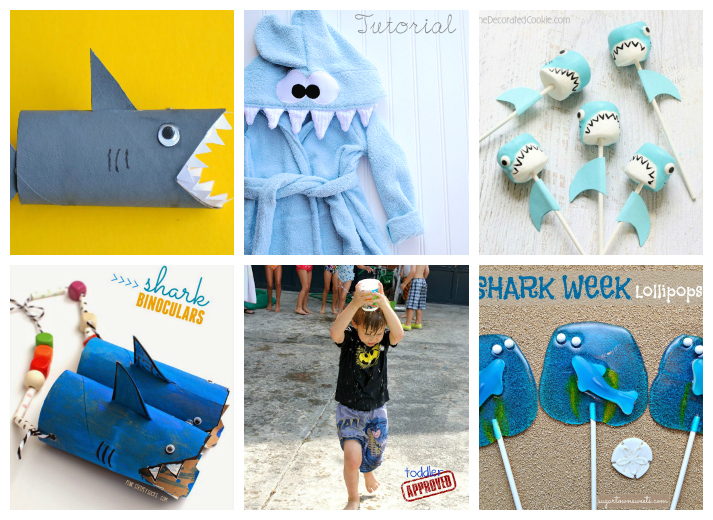 Shark Week Kids Crafts and Activities