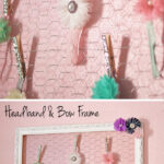 DIY Headband and Bow Holder Frame