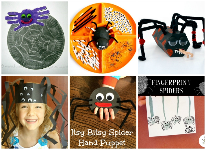 15 Spider Crafts and Activities for Halloween