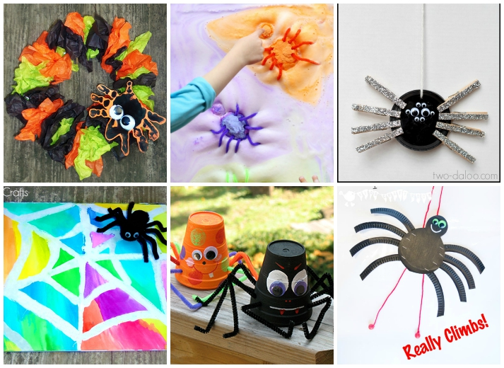 15 Creepy Crawly Spider Activities For Kids I Heart Arts N Crafts