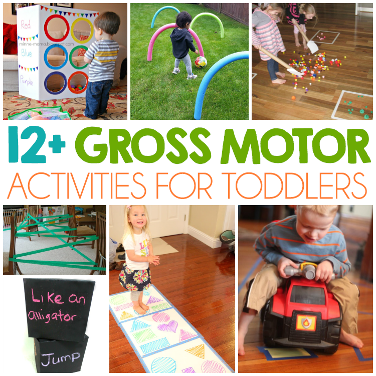 12 gross motor skills for toddlers i heart arts n crafts for Indoor large motor activities for toddlers