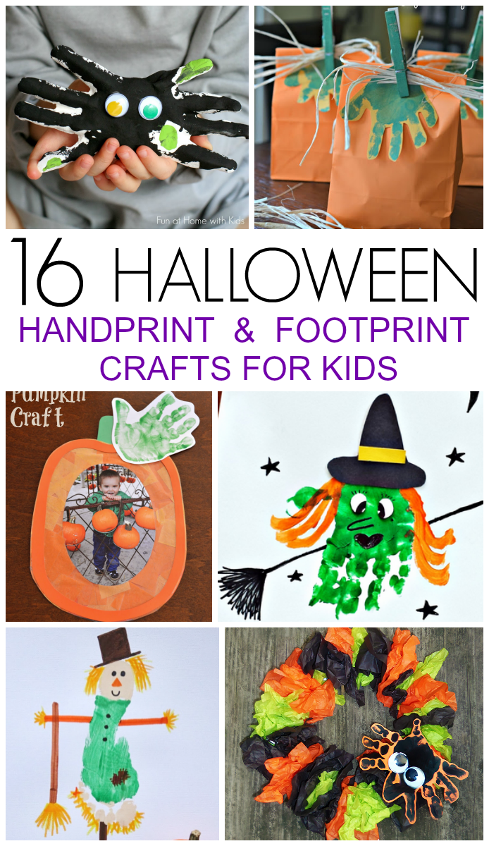 halloween crafts for toddlers 16 handprint and footprint crafts i arts 4606