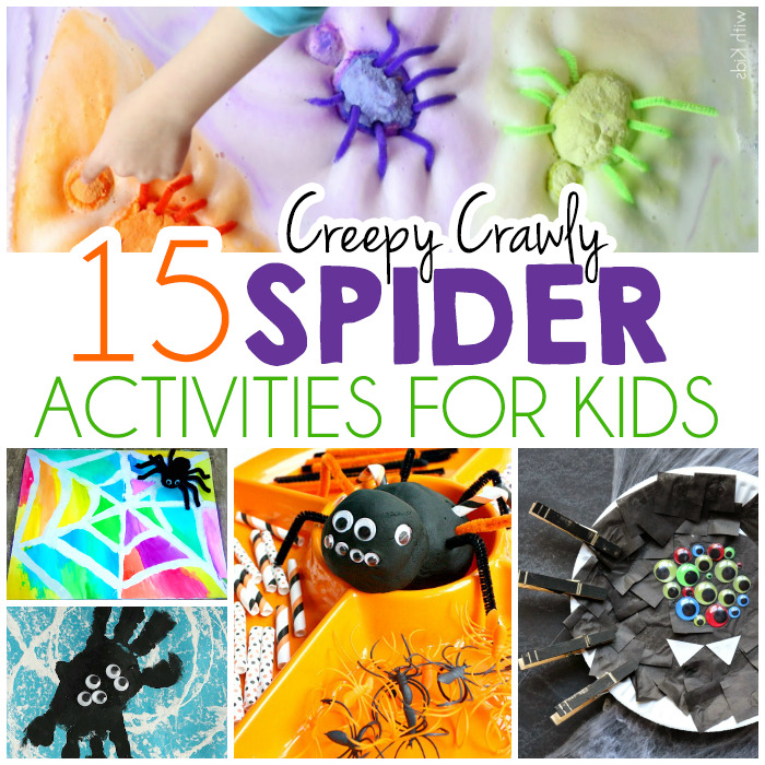 15 Creepy Crawly Spider Activities For Kids