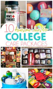 10 Ideas For College Care Packages