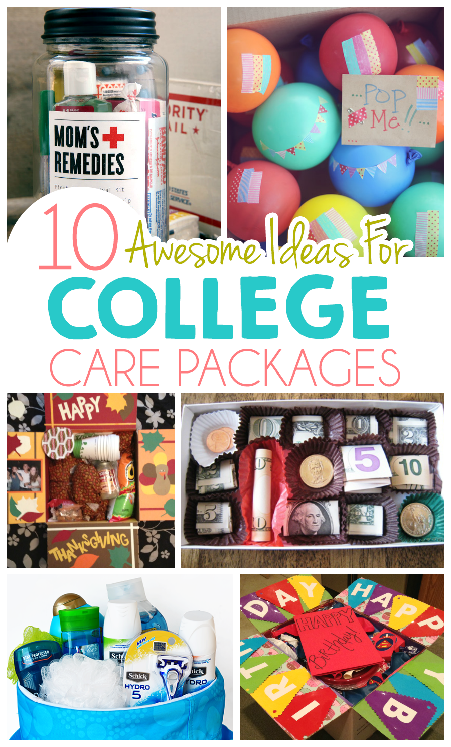 Christmas List Ideas For College Guys : Ideas for college care packages i heart arts n crafts