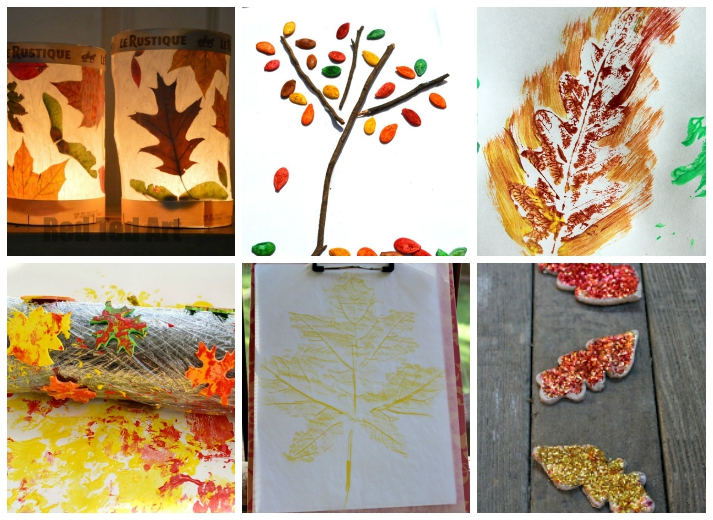 18 Fall Leaf Crafts For Kids I Heart Arts N Crafts