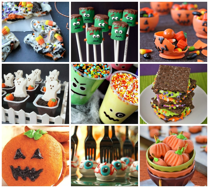25 Spooktacular Halloween Treats For Kids - I Heart Arts n Crafts