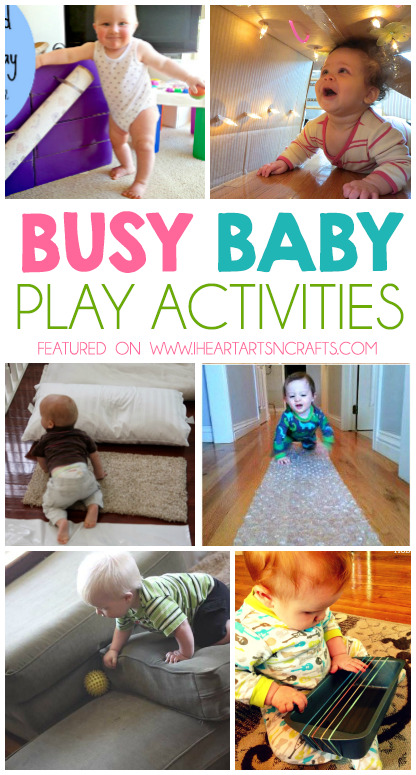 Creative Mommy and Me Baby Activities
