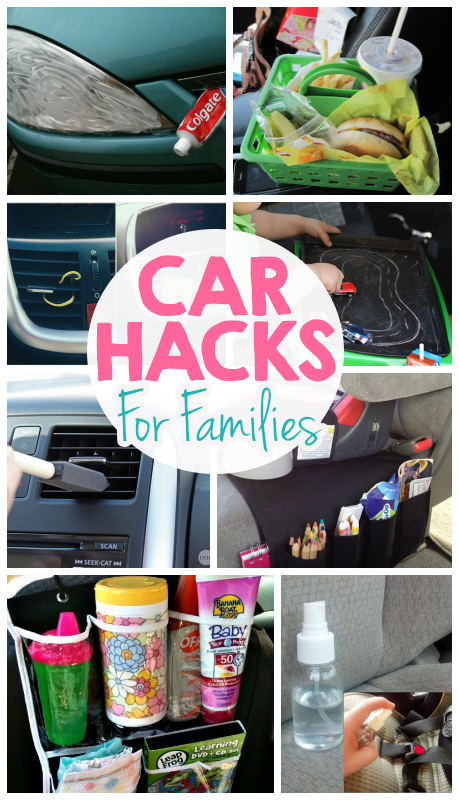 Brilliant Car Hacks For Families