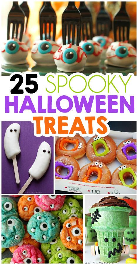 25 Fun Halloween Treats For Kids