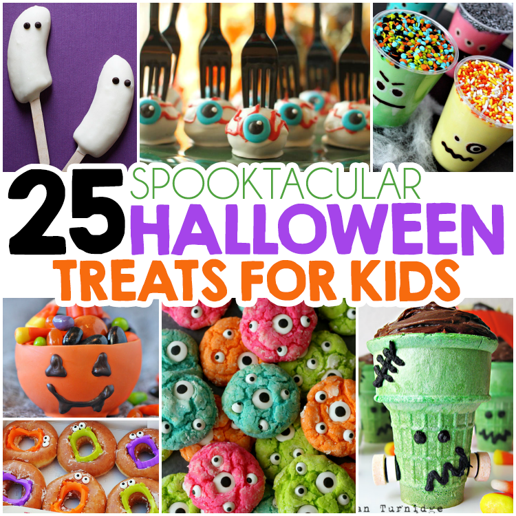 Fun Food Crafts For Halloween