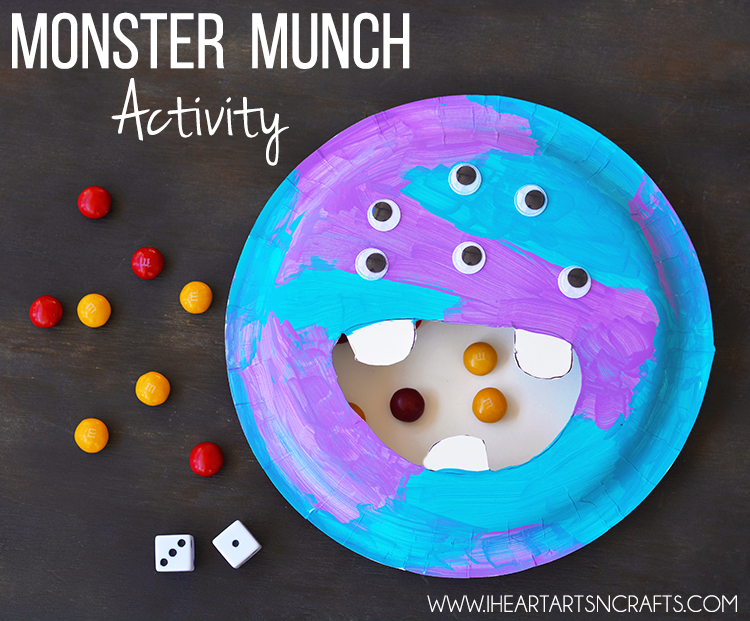 Monster Munch Activity - I Heart Arts n Crafts