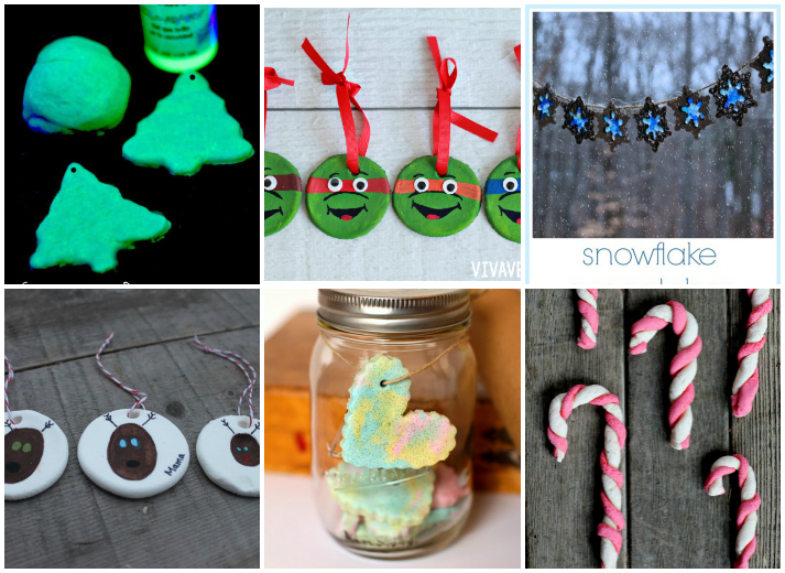 25+ DIY Christmas Salt Dough Ornaments for Kids