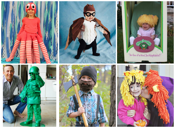 25+ DIY Kid And Toddler Costumes For Halloween  sc 1 st  I Heart Arts n Crafts & 25 Creative DIY Halloween Costumes For Kids - I Heart Arts n Crafts