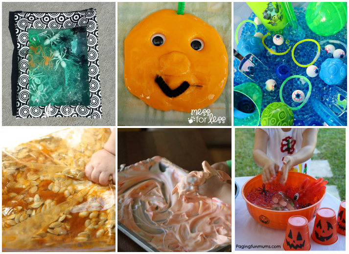 25 Easy Halloween Sensory Activities For Kids