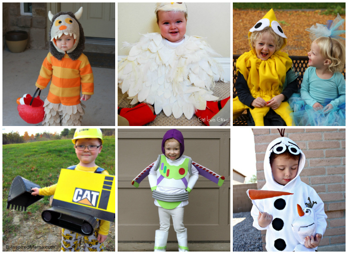 DIY Halloween Costumes for Kids  sc 1 st  I Heart Arts n Crafts & 25 Creative DIY Halloween Costumes For Kids - I Heart Arts n Crafts