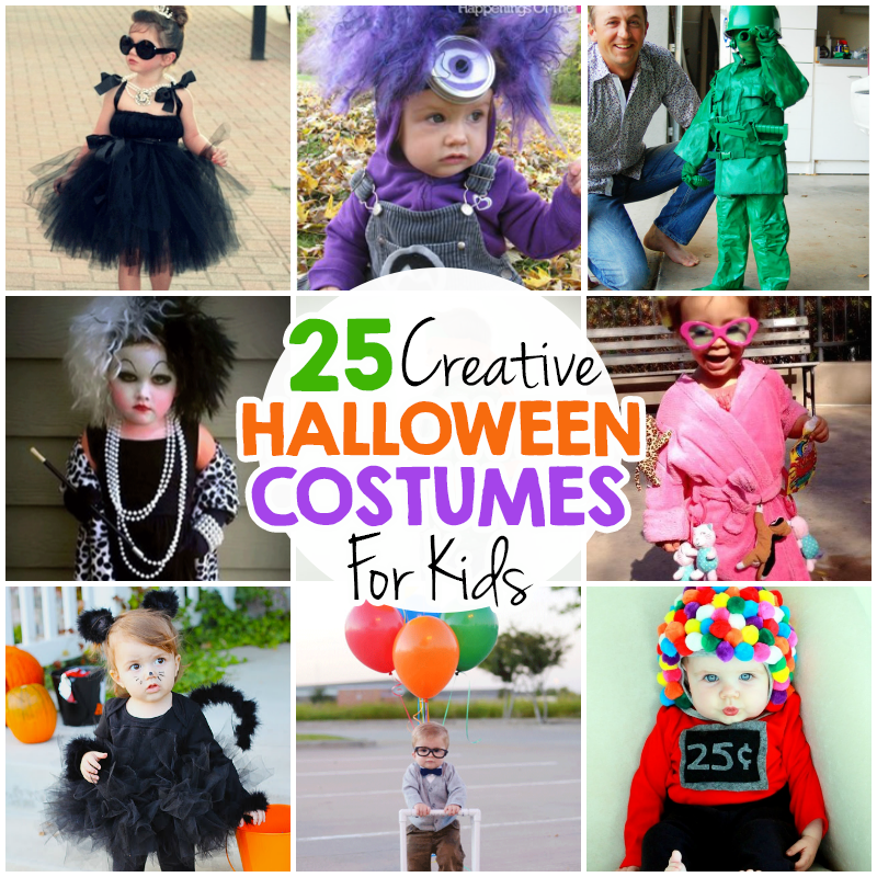 25 creative diy halloween costumes for kids i heart arts for Creative halloween costumes for kids