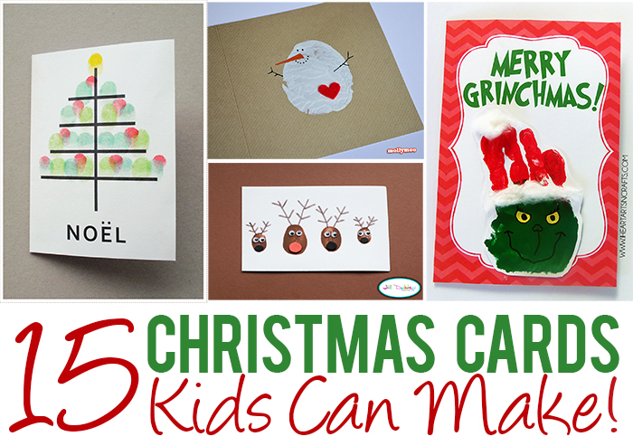 kids christmas cards