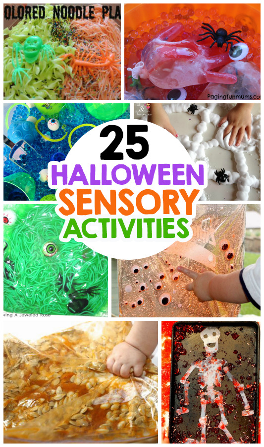 25 Fun Halloween Sensory Activities