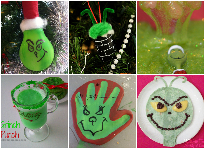 20+ How The Grinch Stole Christmas Crafts, Recipes, And Activities