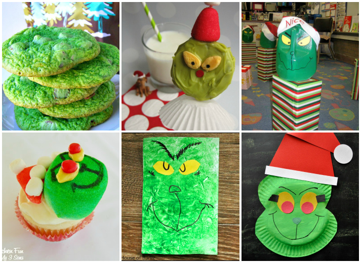 24 Awesome Grinch Crafts, Recipes, and Activities