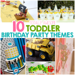 10 Totally Awesome Toddler Birthday Party Themes
