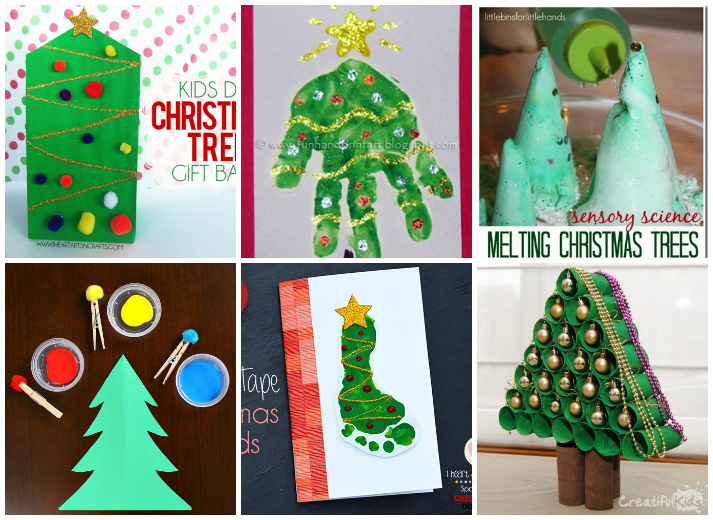 Easy Christmas Tree Crafts And Activities For Toddlers Kids