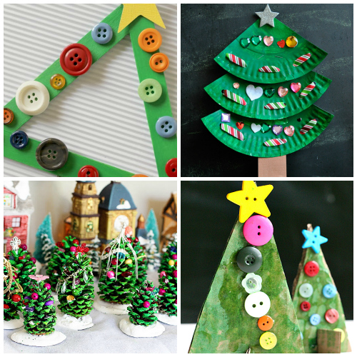 Fun Christmas Tree Crafts And Activities For Kids Art Projects
