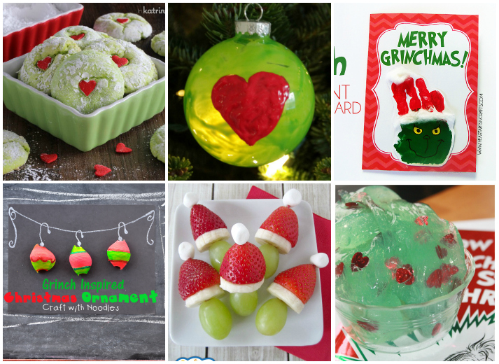 Grinch Crafts, Recipes, and Activities for Kids