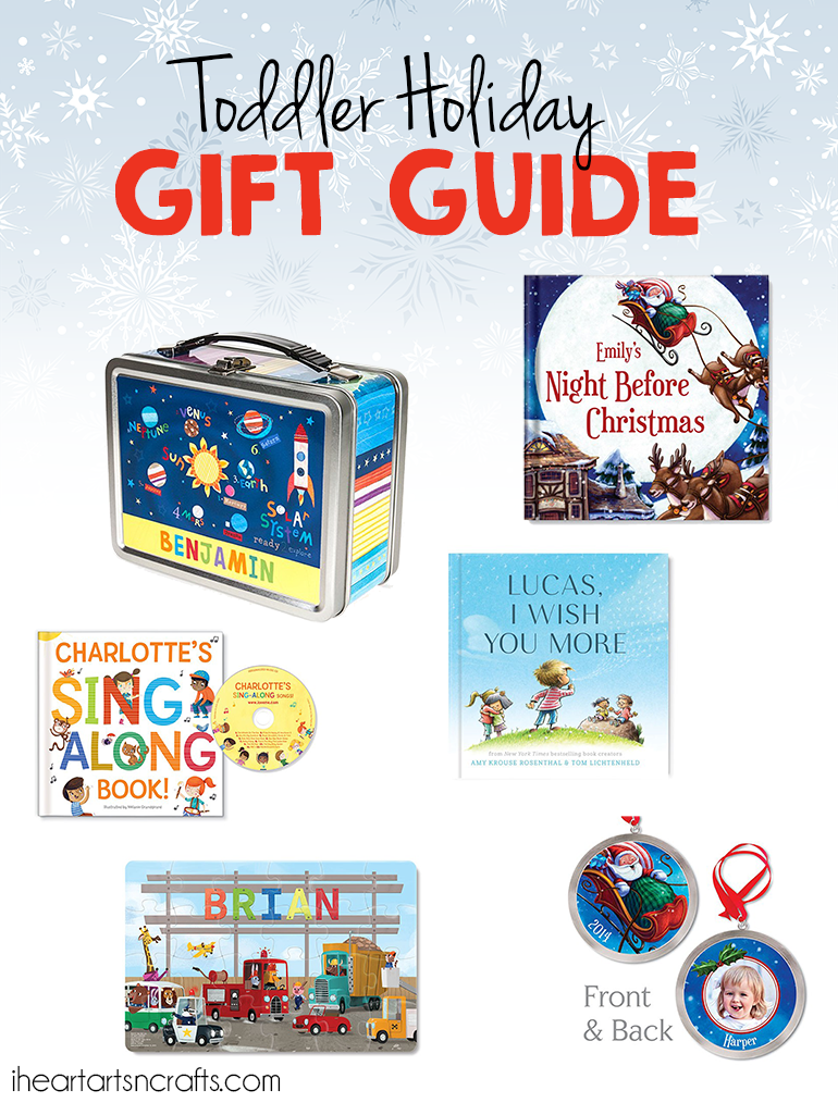 Toddler Holiday Gift Guide - Personalized Gifts They'll Love! - I ...
