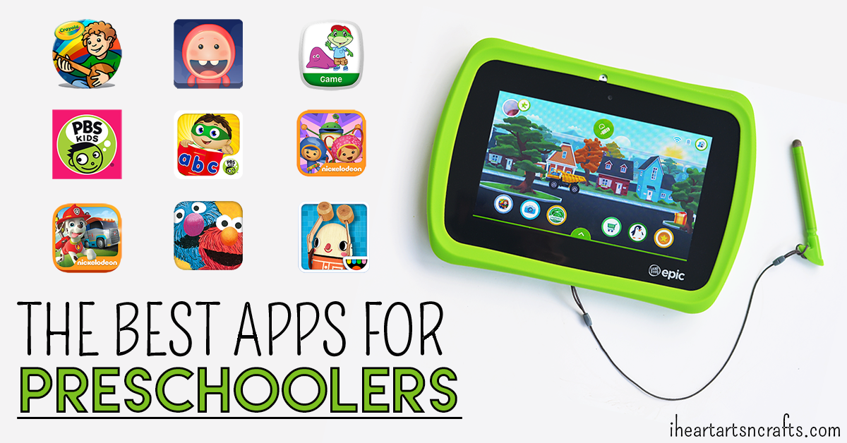 The Best Learning Apps For Preschoolers - I Heart Arts n Crafts