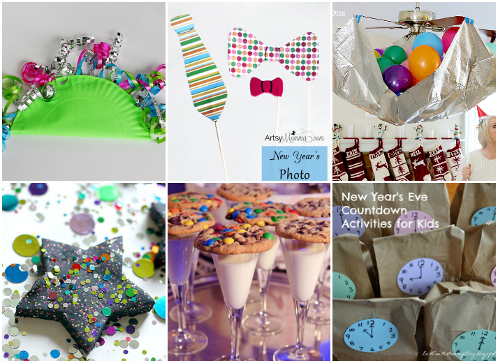20 New Years Eve Crafts and Activities for Kids