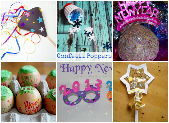 20 New Years Eve Kids Activities and Crafts